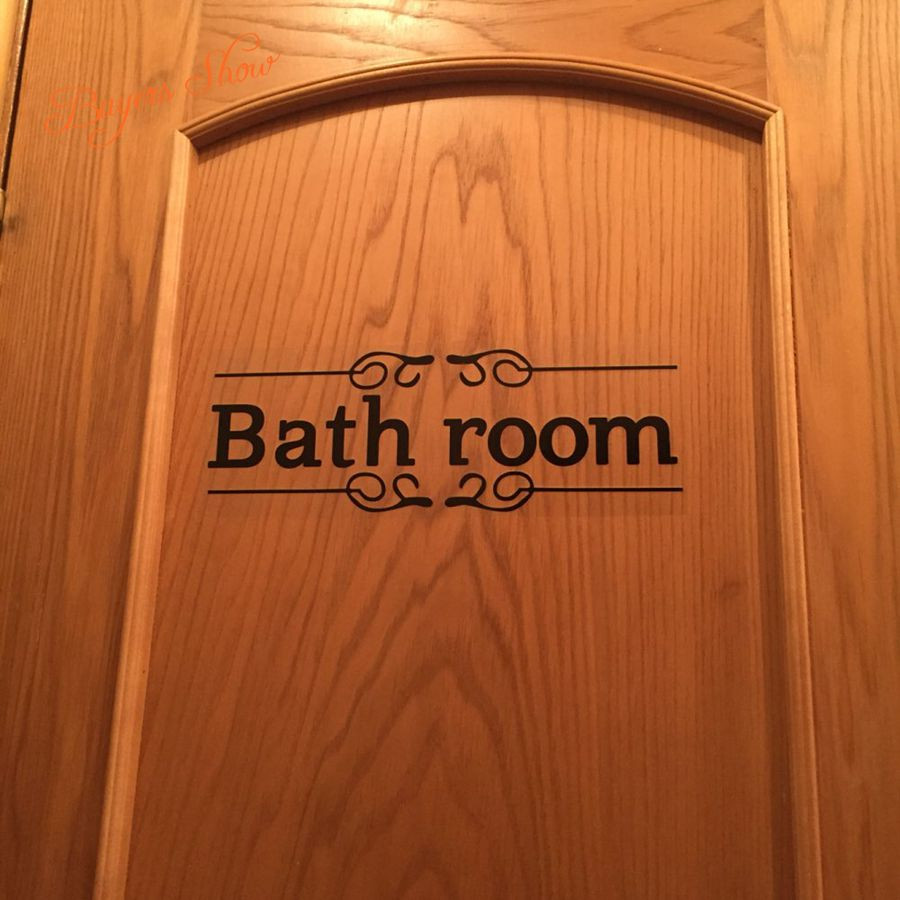 HTB1aoJjKXXXXXc2XXXXq6xXFXXXc - Vintage Wall Sticker For Bathroom