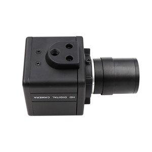 Image 3 - 1080P 2MP CS varifocal 2.8 12mm Mini Box Case High Speed Webcam 60fps 120fps UVC plug play Android Linux Windows Mac USB Camera