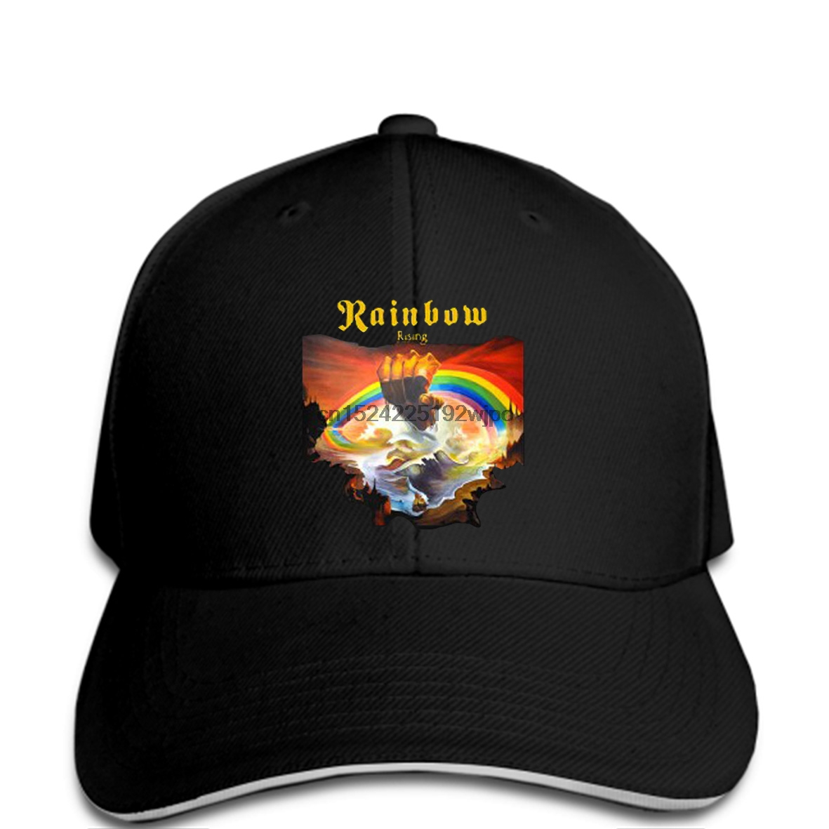 NEW /& OFFICIAL! Rainbow /'Rising/' Baseball Cap