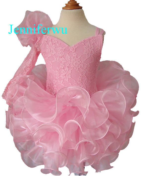 15color available one lace sleeve baby girl clothes baby pageant dress  girl party dresses flower girl dresses1T-6T G192-1 15color available stone beaded baby girl clothes baby pageant dress girl party dresses flower girl dresses 1t 6t g079