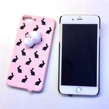 Squishi Rabbit Phone Case For iPhone