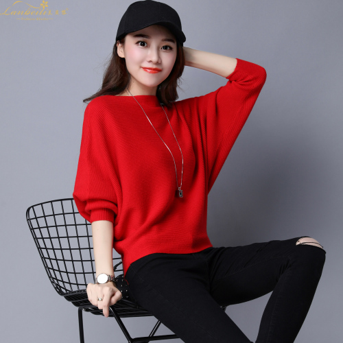 Pure Color Womans Sweater Knitted Korean Style Women Pullover Casual Ladies Thin Sweaters Womens Tops And Blouses Clothing 1