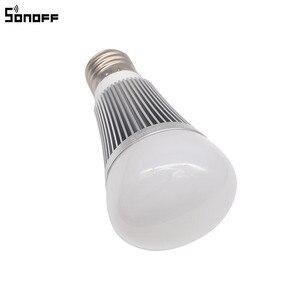 Image 4 - Sonoff B1 Led הנורה דימר Wifi חכם אור נורות שלט רחוק Wifi מתג אור Led צבע שינוי אור הנורה עובד עם Alexa