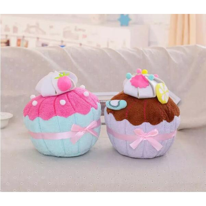 35cm plush cupcake sweet pillow lovely chocolate strawberry cake cushion toys for children kids girl boy