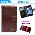 Preço de fábrica! Para LG K8 LTE caso 7 cores de luxo antiderrapante couro genuíno Exclusive para LG K8 LTE tampa do telefone + rastreamento