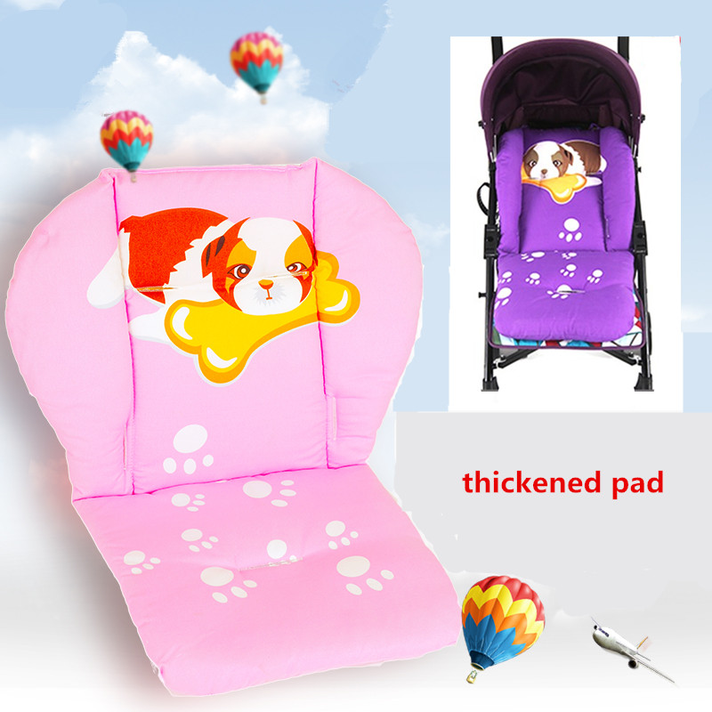 Comfortable Baby Stroller Cushion Pram Padding Liner Car cotton mat Cover Stroller Pad Car Seat Pad Cotton Thick Mat