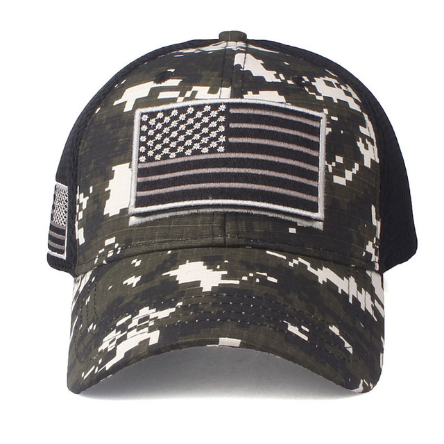 USA Flag Camouflage Baseball Cap USA High quality for men