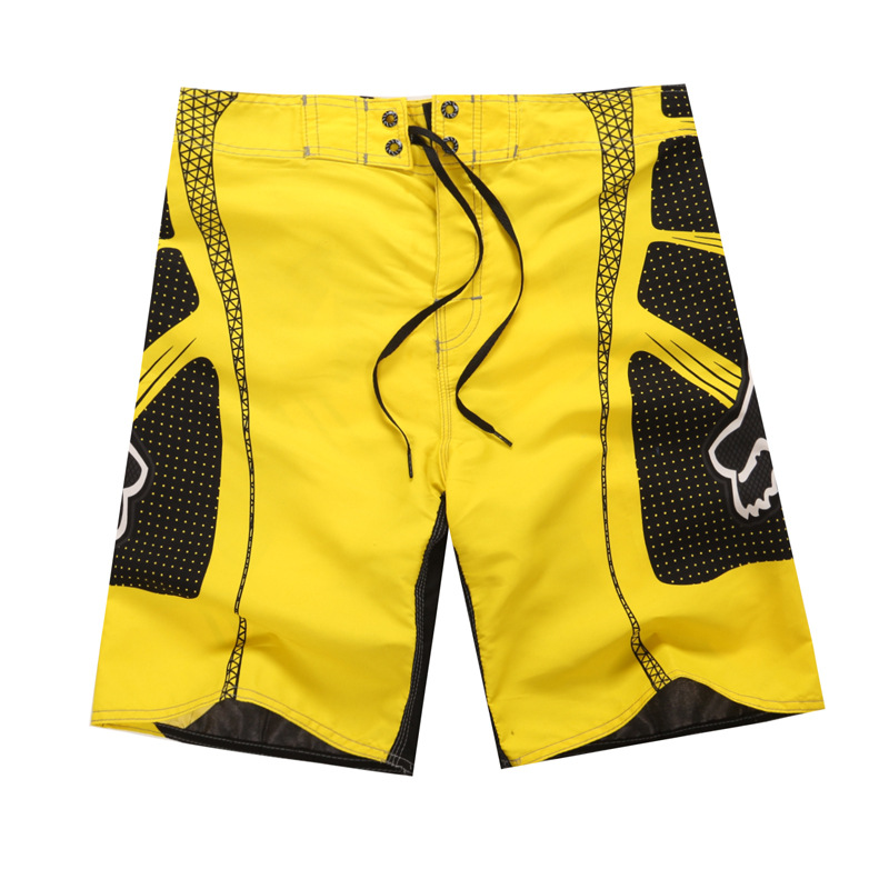 e0dd16b74b HOT sale Israeli fox boardshorts beach shorts for men's new summer Blue red  Yellow green men's sports shorts plus size 5XL-in Casual Shorts from Men's  ...