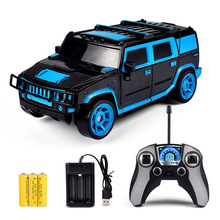 2 in1 RC Car Off-road Transform Robots Models Remote Control 1:18 Deformation toy Kids Hot sell Children Christmas Gift