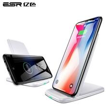 ESR Qi Caricatore Senza Fili Per iPhone X 8 più Veloce di Ricarica Docking Caricabatterie Senza Fili per Samsung Note 8 S9 S8 più S7 S6 Bordo