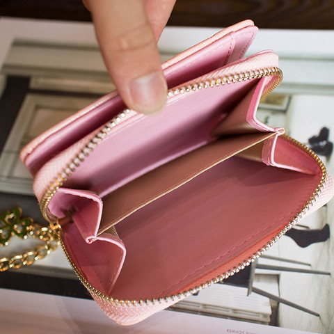 Patent Leather Womens Wallets Female Small Wallets Mini Zipper Wallet for Women Short Coin Purse Holders Clutch Girl Money Bag Karachi
