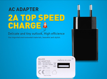 Original NILLKIN EU/US AC 5V 2A USB Charger Adapter For iPhone 6 6 Plus 5 5s 4 4s For S6 S5 S4 S3 Note 4 3 2 For Nokia For HTC