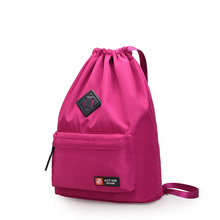 Fashion Designer Women Nylon School Backpack Women Ladies Drawstring casual Schoolbag for Teenagers Female Travel Back Pack