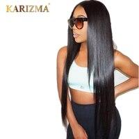 Karizma Brazilian Straight Hair 8 28inch Natural Color 100 Human Hair Non Remy Hair Weaving 1