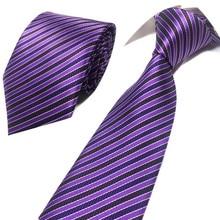 Classic Plaid Neck Ties for Men Casual Suits Tie Gravatas Stripe Blue Neckties For Business Wedding 8 cm Width Men Ties fashionable star and stripe pattern patchwork 5cm width tie for men