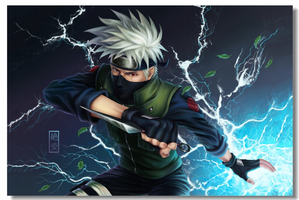 Aliexpress Com Buy New Cartoon Naruto Wallpapers Custom Canvas