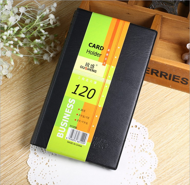Business Card Book 120 Business Card Book Business Card Folder Office Stationery For Men And Women