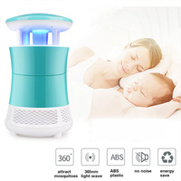 Silent Night Guardian Lights Nonradiative LED Mosquito Insect Killer Lamp Mosquito Trap Noiseless Electric Fly Bug Zapper