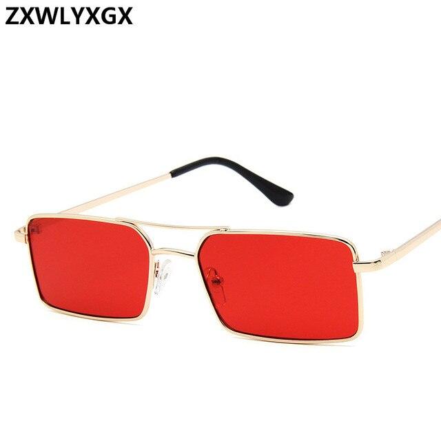 Gafas De Sol clásicas De estilo Retro para mujer, anteojos De Sol femeninos, De lujo, Steampunk, De Metal, con espejo Vintage, con UV400, 2021 3