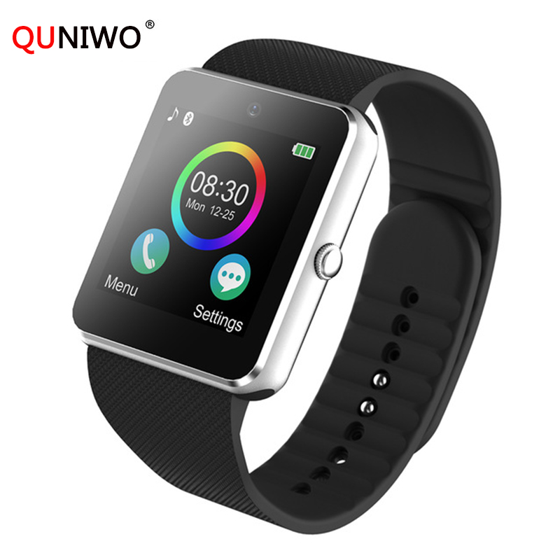 2018 Smart Watch Android GT08 Clock With Sim Card Slot Push Message Bluetooth Connectivity Android Phone PK DZ09 Smartwatch Men стоимость