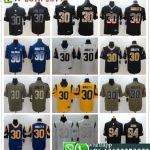 8c7ca819e Men Los Angeles Aaron Donald Jared Goff Todd Gurley II Cooper Kupp football  jerseys