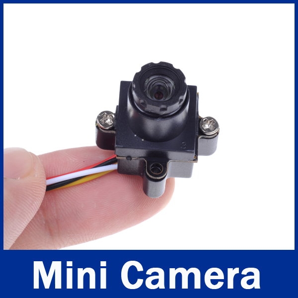ФОТО Audio Ultra Small 520TVL HD Size 0.008LUX 90 Degree Mini Wired CCTV Camera For RC FPV Quadcopter Helicopter