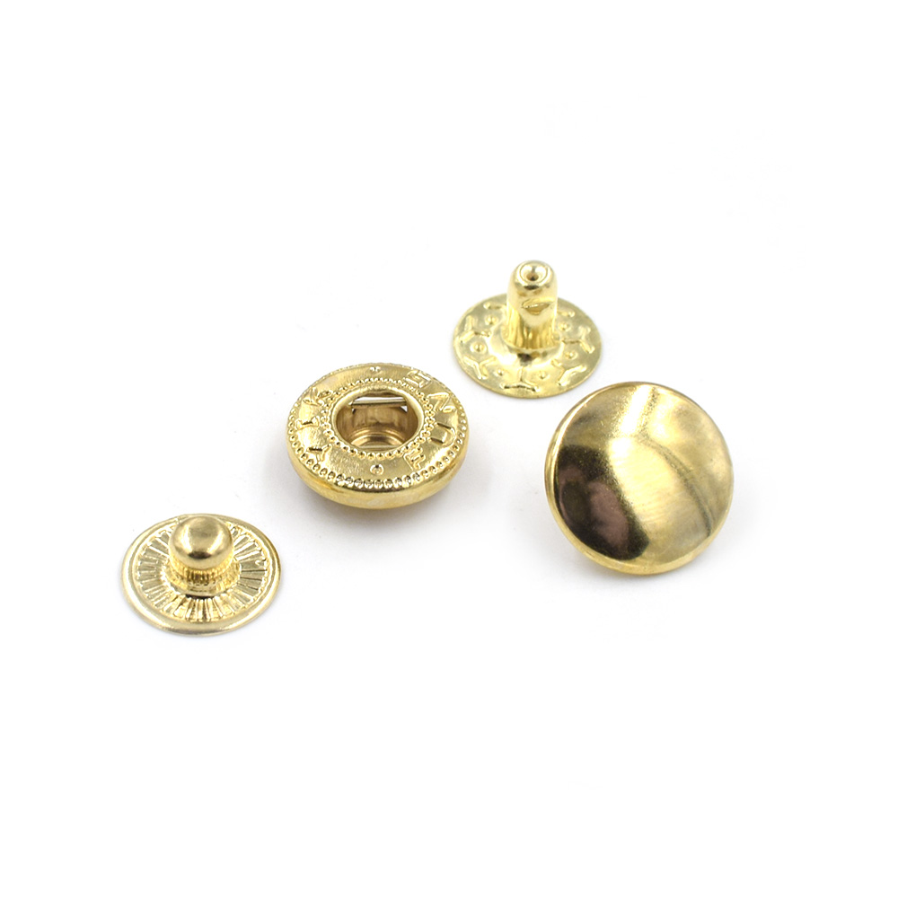 Image 4 - 500 sets /lot15mm Metal snap. fastener buttons, Rivet, T8 T5 T3  snaps jacket buttons Clothing