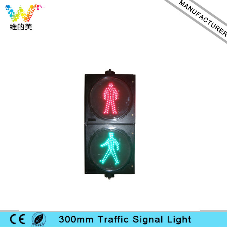 Hot Sale High Quility 300mm Static Pedestrian Signal Light