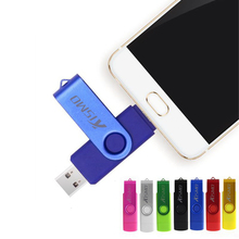 Kismo USB2.0 флеш-накопитель 8 ГБ 16 ГБ, 64 ГБ, карта памяти OTG флеш-накопитель USB для samsung S6 S7 край sony Z3 Z4 Z5