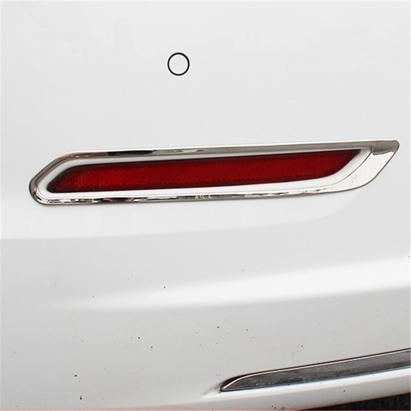 car accessories chromium 2016 2017 modified fog lamp sequins refit bright frame decorative taillight FOR Chevrolet Malibu new led license number plate lights for vw t5 passat 3c b6 caddy touran jetta golf plus no error