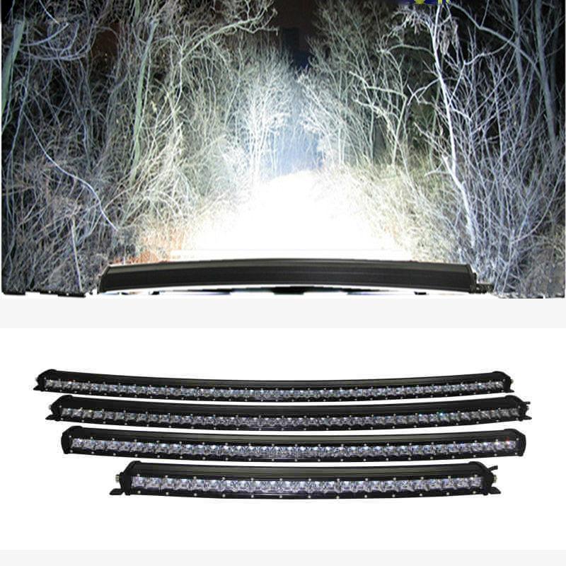 210W 3D super tanak jednoredni zakrivljeni radni automobil svjetlo - Svjetla automobila - Foto 6