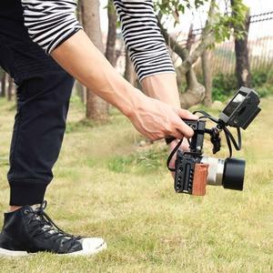 Image 4 - Smallrig 6500 カメラケージソニーA6500 カメラ木製ハンドルグリップフォームフィッティングA6500 ケージスタビライザー 2097