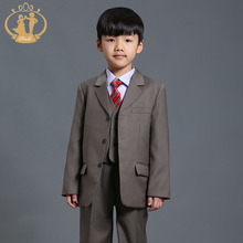 children clothing sets boys blazers wedding sets 3 Pieces boys tuxedo suits Student performance clothes 72-7