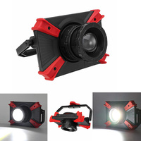 10W Portable USB Rechargeable Magnetic 1000LM COB LED Camping Light Focusing Lens Outdoor Work Lamp
