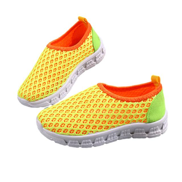 2016 a primavera eo verão novo sandálias tenda das crianças coreanas malha respirável shoes nova coreano comércio exterior movimento