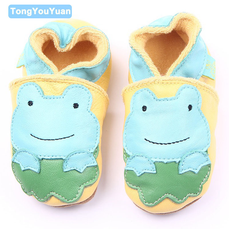 High Quality Genuine Leather Baby Moccasins 6 Designs Infant Leather Baby Boy Girl Shoes For 0-15 Months