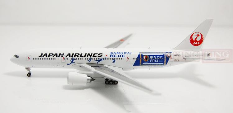 Special offer: JC Wings XX4864 B777-200 JA8985 1:400 Nikko Blue Samurai commercial jetliners plane model hobby special offer wings xx4232 jc korean air hl7630 1 400 b747 8i commercial jetliners plane model hobby