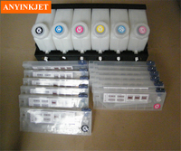CISS ink system bulk ink system use for Roland for Mimaki for Mutoh and other printer (6 ink bottle with 12 ink cartridge)