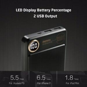 Image 4 - Remax RPP 59 batteria Ai Polimeri di 20000 mAh banca di Potere Dual USB Powerbank Batteria Esterna Caricatore Del Telefono Mobile Portatile di Ricarica Veloce