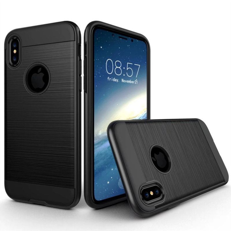 For <font><b>iphone</b></font> X XR XS Max <font><b>case</b></font> Luxury Hybrid Armor Rubber Hard PC Rugged Back Cover For <font><b>iphone</b></font> 7 8 6 6s Plus 5 5s SE Coque Capa image
