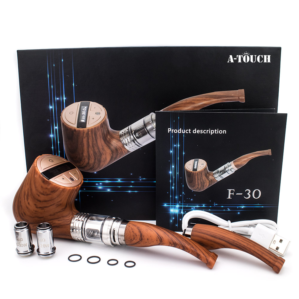 A Touch F 30 ePipe Kit E Pipe Starter kit With 3ml Atomizer And Built in