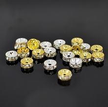 400 шт блестящие медные бусины высшего качества 6 мм