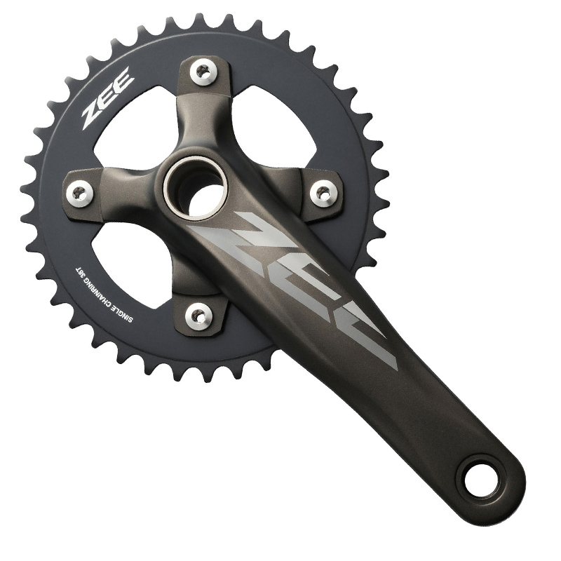 SHIMANO FC M640 645 10S ZEE Crankset Bicycle Components MTB Mountain Bike Chain Wheel Accessory shimano acera fc m391 27s travel bicycle crane chain plate accessories mtb mountain bike sprockets accessories 48 36 26t