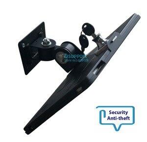 Image 3 - Fit voor ipad 2/3/4/5/air/pro wall mount metalen case voor ipad stand display beugel tablet pc lock houder ondersteuning Stel de hoek