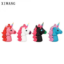 Unicorn White usb Flash Drive 4G 8G 16G 32G 64GB External Memory USB Flash Drive