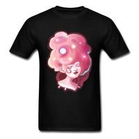 Lovely Girl Star Image T-Shirt Boy Regular Short Sleeve Summer Fashion Clothes 2018 Andromeda Pink Fairy T Shirt Cotton
