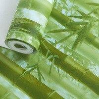 Beibehang Tridimensionale verde di bambù di bambù carta da parati contadino musica ristorante hotel soggiorno TV sfondo 3d carta da parati