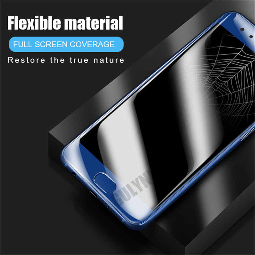 Screen Protector SUS 25 PCS Soft Hydrogel Film Full Cover Front Protector with Alcohol Cotton Scratch Card for Huawei P20 Pro Huawei