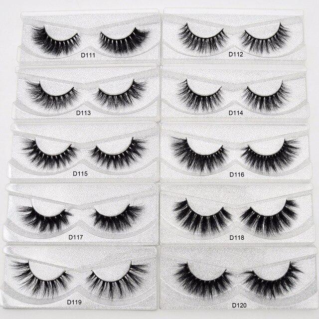 Visofree Eyelashes 3D Mink Lashes Handmade Full Strip Lashes Cruelty Free Luxury Mink Eyelashes Makeup Lash maquiagem faux cils 3