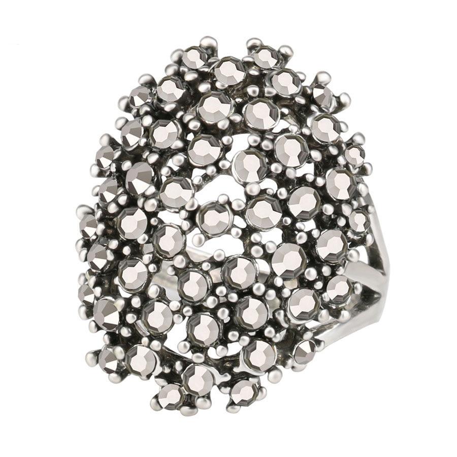 Bijoux en gros bagues de fiançailles de mariage bague argent S femme anneaux vintage anneaux jz233 punk anel bagues tendances anello